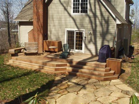 deck without railing deck railings st louis decks screened porches pergolas by archadeck