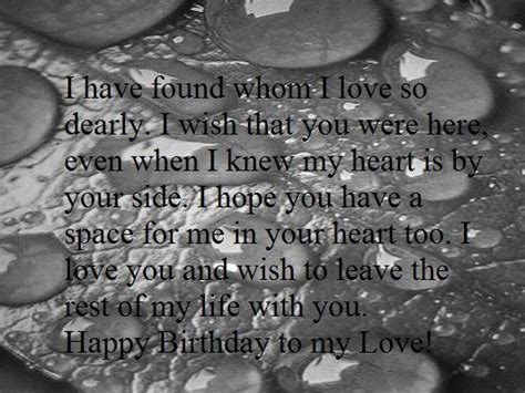 heart touching happy birthday wishes  boyfriend