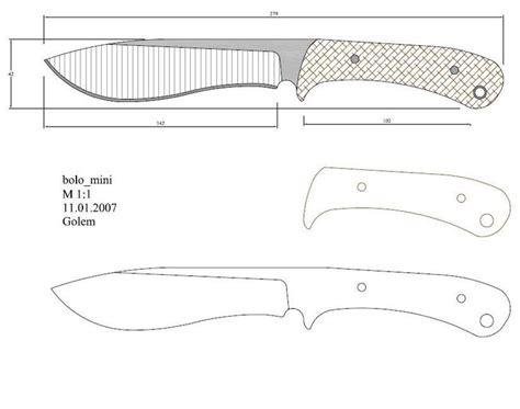 Plantillas de cálculos hidráulicos de cam. Plantillas para hacer cuchillos | Cuchillos, Plantillas ...