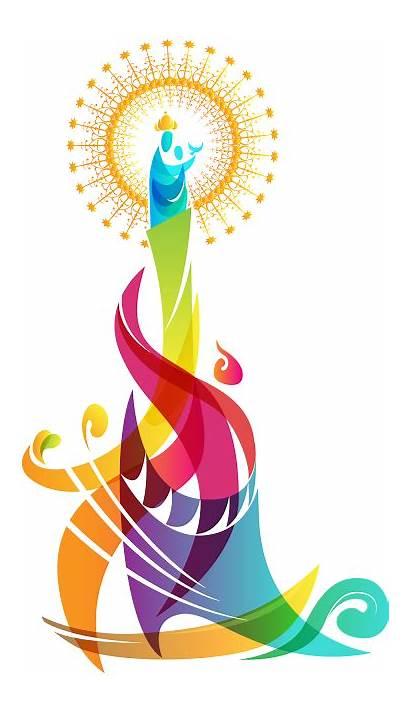 Festival Zamboanga Hermosa Logos Philippines Pilar Clipart