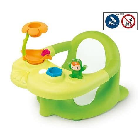 siege de bain cotoons siège de bain vert avec ventouses vert achat