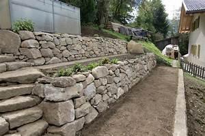 Natursteinmauern Im Garten : natursteinmauern putzer aufhofen garten winkler ~ Sanjose-hotels-ca.com Haus und Dekorationen