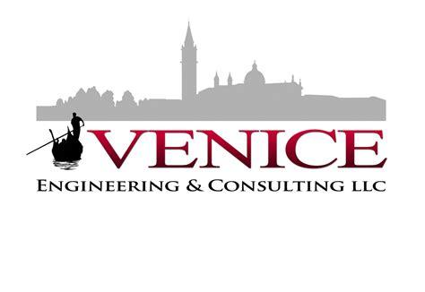 masculine small business logo design  venice