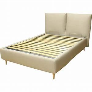 Coussin Tete De Lit Gifi : lit coffre avec t te de lit coussin london ~ Dailycaller-alerts.com Idées de Décoration