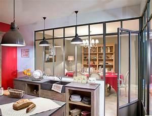 Cuisine verriere les secrets d39une cuisine de caractere for Deco cuisine avec placard pour salle a manger