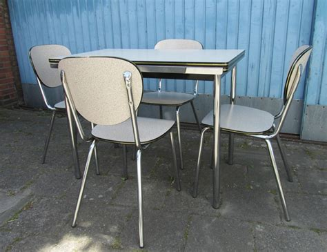 Kitchen Table And Chairs 1960 When Old Fashioned