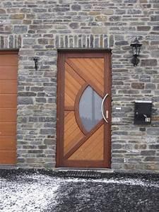 Porte D Entrée En Bois Moderne : chassis en bois portes et fen tres bois menuiserie dasnois ~ Nature-et-papiers.com Idées de Décoration