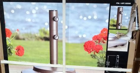 sungrade umbrella stand costco weekender