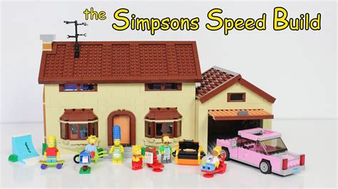Lego The Simpsons House 71006 Speed Build/time Lapse
