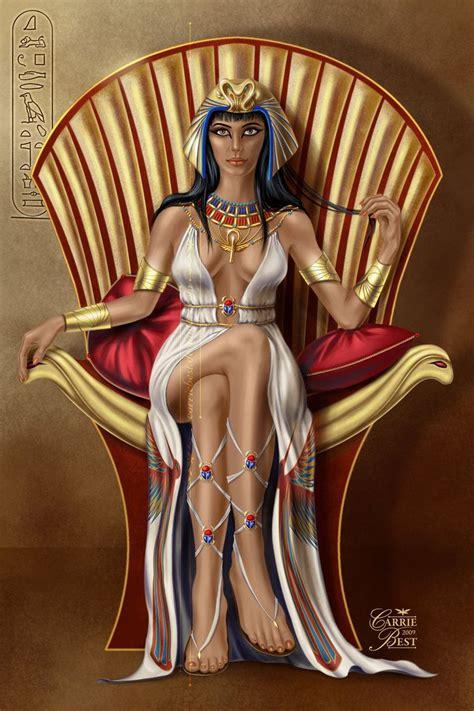 Cleopatra Par Carriebest Deviantart Gyptian Lover