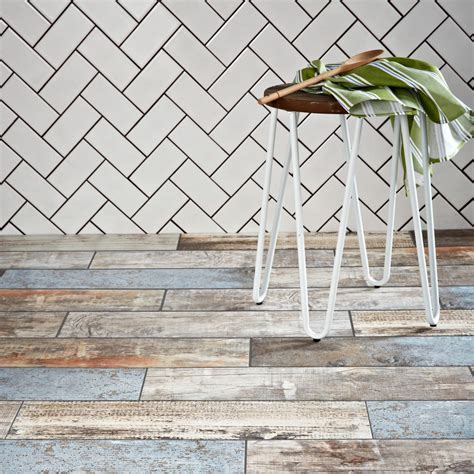 rustic wood tiles rustic blue wood plank tiles reclaimed wood effect tiles tiles
