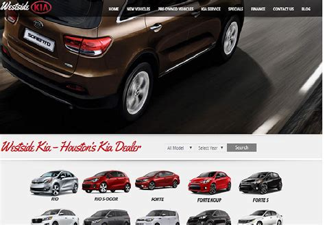 top car automobile dealership website designs