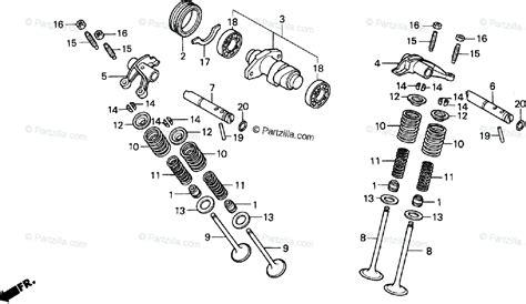 Honda Atv Oem Parts Diagram For Camshaft Partzilla
