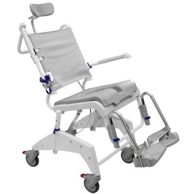 aquatec vip tilt in space shower wheelchair