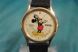 Vintage Seiko Mickey Mouse Watch
