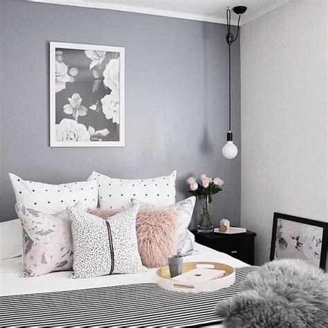 Gray And White Room Decor - 9 gorgeous white grey and pink interiors that make you