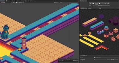 2d Unity Isometric Tilemap Tilemaps Beta Tileset
