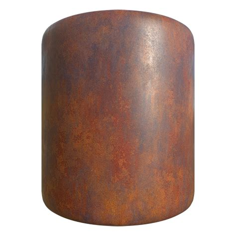 metal texture rusty plate seamless textures cg cylinder pbr tileable