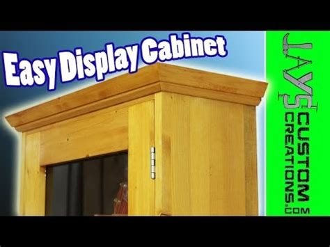 easy display cabinet  youtube