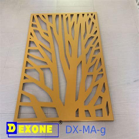 cnc metal engraved panel  fencescreen  modern