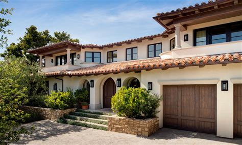 Mediterranean Style Home Exterior Ranch Style Home