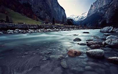 Water Desktop Mountain Backgrounds Lake Sky Stream
