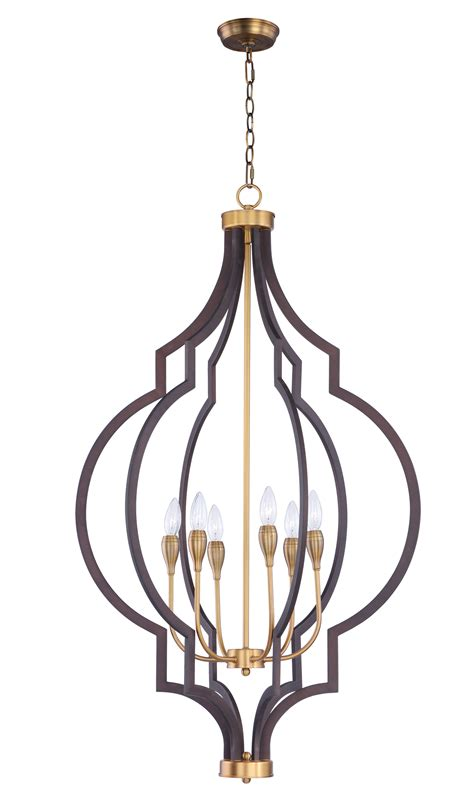 Lighting Chandeliers by Crest 6 Light Chandelier Chandelier Maxim Lighting