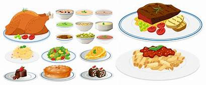 Types Different Plates Vector Clipart Resources Vectors