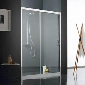 Porte Coulissante 120 Cm : porte de douche coulissante 120 cm mod le fly cristal clair ~ Dailycaller-alerts.com Idées de Décoration
