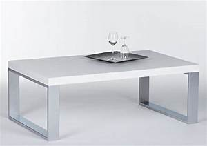 Tischplatte Hochglanz Weiß : couchtisch in wei hochglanz mit metallgestell sofa tisch mit robuster tischplatte boho style ~ Buech-reservation.com Haus und Dekorationen