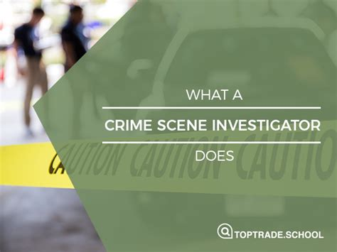 How Much Does A Criminal Investigator Make A Month by What Does A Crime Investigator Do Becoming A Csi