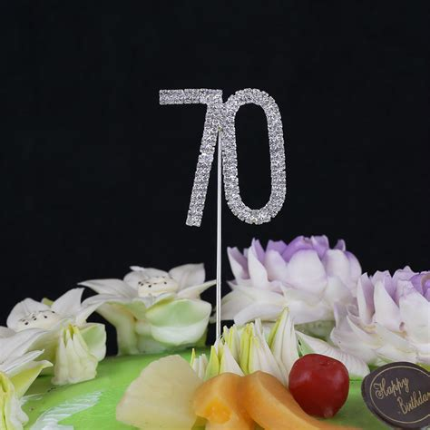 large 70th birthday anniversary number large 70th birthday wedding anniversary number cake topper