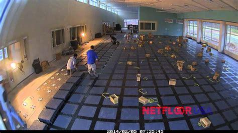cable management raised floor system low profile carpet