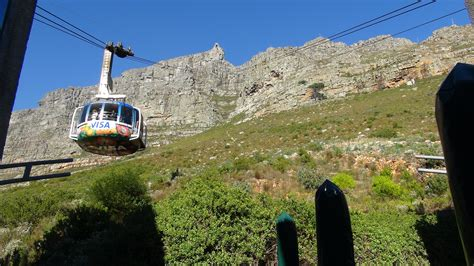 table mountain cable car table mountain in photos