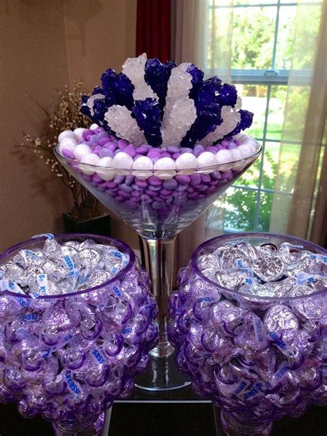 Sweet Table Vases by Chic Modern Centerpieces Sweet Decor