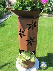Decoration Jardin Metal : un objet en fer ou m tal rouill peut tre la d coration ~ Teatrodelosmanantiales.com Idées de Décoration