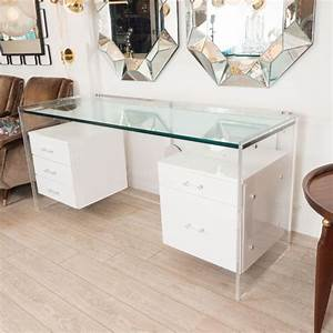 best 25 glass desk ideas on pinterest glass office desk With white desk with drawers buying guides