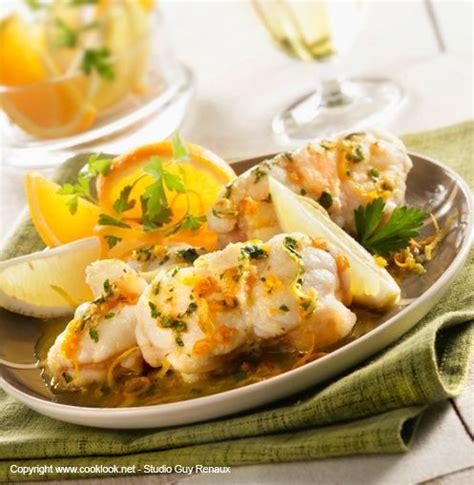 cuisine lotte recette queue de lotte orange et jaune recettes de cuisine