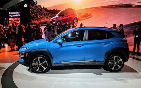 Hyundai Unveils The Kona, Its New Compact Suv Futurecarcom