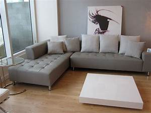 grey-leather-sofa-Living-Room-Modern-with-custom-area-rug