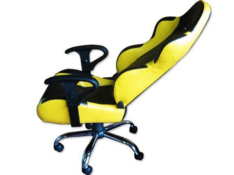 fauteuil de bureau belgique siege baquet fauteuil de bureau cuir jaune noir pied inox finition ebay