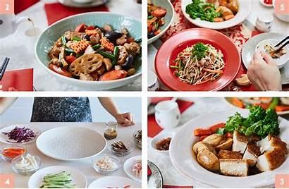 Asian Yang Main Dishes Oriental Jang Pi