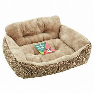 Vibrant, Life, Brown, Lounge, Style, Pet, Bed, Small, -, Walmart, Com