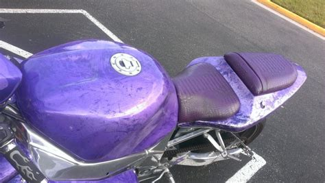 purple kandy pearl motorcycle paint with pearl