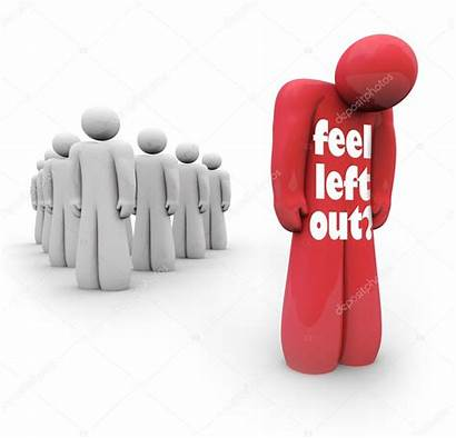 Person Left Isolated Feel Outsider Alone Sad