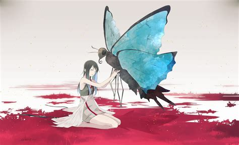 Anime Butterfly Wallpaper - 1920x1173 anime butterfly wallpapers