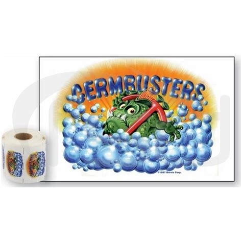 stickers protection cuisine pack of 50 germbusters stickers food safety direct