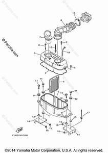 Yamaha Waverunner 2008 Oem Parts Diagram For Intake