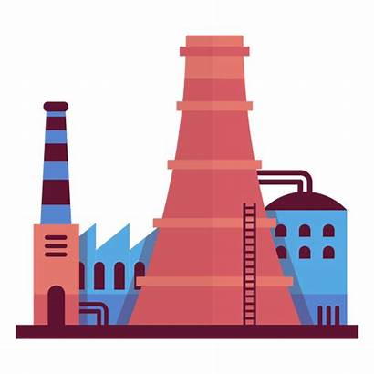 Factory Industrial Illustration Transparent Svg Vector Texture