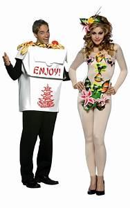 Déguisement Couple Célèbre : d guisement couple boite chinoise et sushi costume asiatique original pas cher ~ Melissatoandfro.com Idées de Décoration